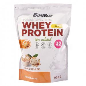 Коктейль протеиновый Крем-брюле 900г Bombbar