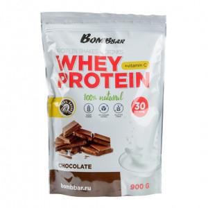 Коктейль протеиновый Шоколад 900г Bombbar