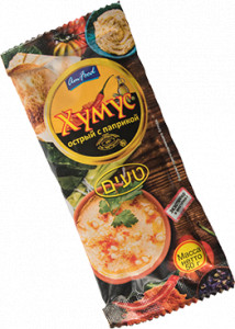 Хумус острый с паприкой саше 50г Тайны востока AmFood