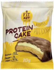 PROTEIN CAKE Банановый пудинг 70г itKit