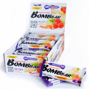 Батончик протеиновый Малиновый чизкейк 60г Bombbar