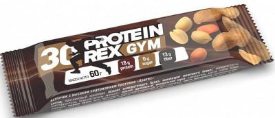 Батончик с высоким содержанием протеина Арахис 60г Protein Rex