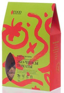 Эко-чипсы водоросли нори с томатами и орегано 70г FoodRevolution
