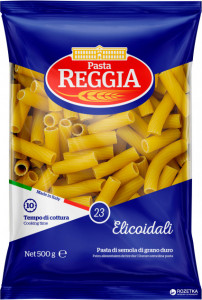 Макароны трубочки №23 Elicoidal 500г Reggia