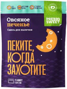 Смесь сухая для выпечки Печенье овсяное 250г PREBIO SWEET