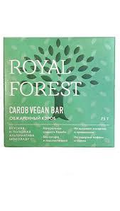 Шоколад из обжареного кероба Vegan 75г Royal Forest