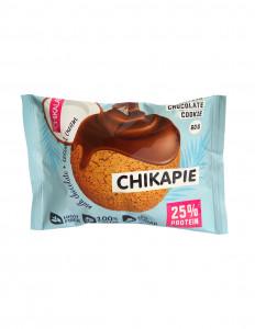 Печенье протеиновое глазированное с начинкой Кокос 60г CHIKALAB