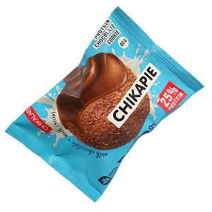 Печенье протеиновое глазированное с начинкой Шоколад 60г CHIKALAB