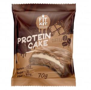 Печенье протеиновое Двойной шоколад 70г FitKit