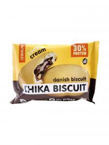 Печенье протеиновое неглазированное с начинкой Бисквит датский 50г CHIKALAB