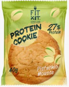 Печенье протеиновое Фисташковый мусс 40г FitKit