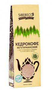 Кедрокофе Вегетарианский на растительных сливках без сахара 130г СИБЕРЕКО