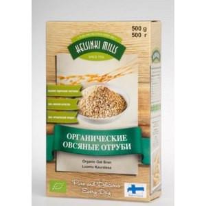 Хлопья овсяные быстрого приготовления органические 500г Helsinki Mills