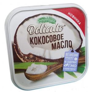 Масло кокосовое рафинированное ПЭТ450г Delicato