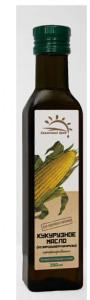 Масло кукурузное нерафинированное холодный отжим ст/б 250мл Солнечный Край
