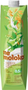 Напиток овсяный с зеленым чаем матча 1л Nemoloko