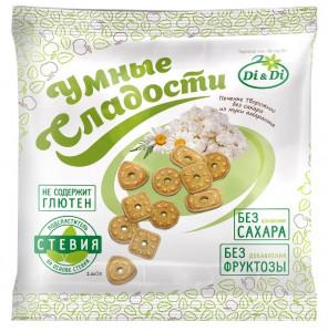 Печенье творожное без сахара 160г Умные Сладости