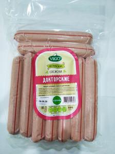 Сосиски вегетарианские Докторские 500г Vego