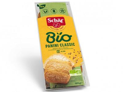 Булочки Белые без глютеновые BIO Panini Classic 165г Schar