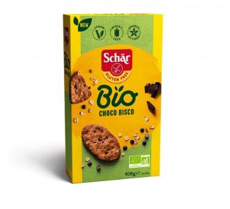 Печенье Шоколадное без глютена BIO Choco Bisco 105г Schar