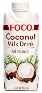Кокосовая вода молочный напиток 330мл FOCO