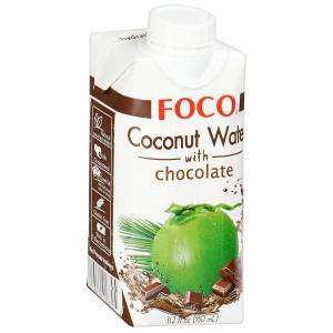 Кокосовая вода с шоколадом 330мл FOCO