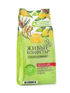 Мармелад желейный имбирь лимон 170г Лакомство для Здоровья