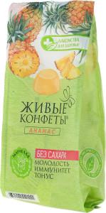 Мармелад желейный ананас 170г Лакомство для Здоровья