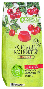Мармелад желейный вишня 170г Лакомство для Здоровья