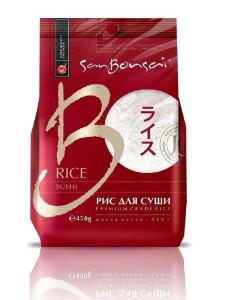 Рис для суши 450г BONSAI