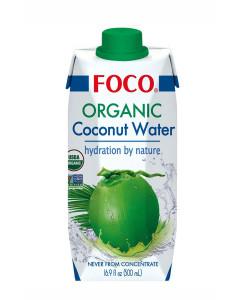 Кокосовая вода Organic тетра пак 330мл FOCO