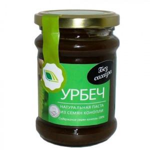 Урбеч из семян конопли 280г Биопродукты