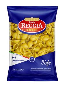 Макароны №62 ракушки Tofe 500г Reggia de cácerta