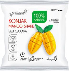 Десерт без сахара манго в шоубоксе 20 пачек Konjak shake Ширатаки