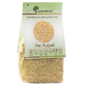 Рис бурый 400г Здороведа