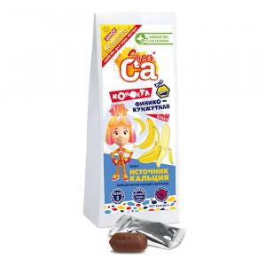 Финико-кунжутные конфеты с бананом ФИКСИКИ 55г Лакомства для здоровья