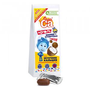 Финико-кунжутные конфеты с кокосом ФИКСИКИ 55г Лакомства для здоровья