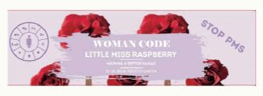 Батончик Little Miss Raspberry 15-28 день цикла 45г Woman Code