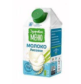 Молоко рисовое 500мл Здоровое меню