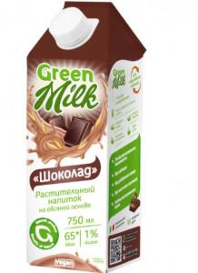 Молоко овсяное Шоколад 750мл Green Milk