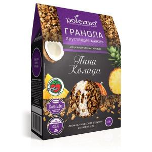 Гранола Пина Колада с ананасом 250г Полеззно