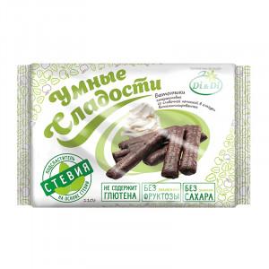 Батончик безглютеновый с кокосовой начинкой в витаминизированной глазури 110г Умные Сладости