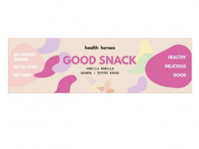 Батончик Vanilla Manilla 45г Good snack by Health Heroes