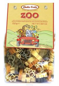 Макароны Зоопарк без яиц со шпинатом и томатами 250г/24 Dalla Costa