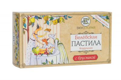 Пастила Белевская с брусникой 100г ВкусСтория