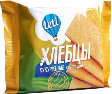 Хлебцы хрустящие кукурузные запеченные 60г Leti