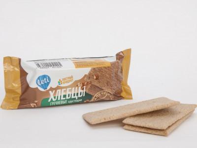 Хлебцы хрустящие гречневые запеченные 30г Leti