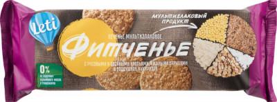 Печенье Фитченье мультизлаковые 150г Leti