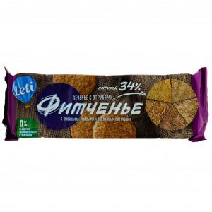 Печенье Фитченье с отрубями 150г Leti