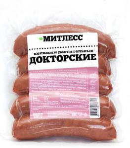 Колбаски Докторские 400г Митлесс